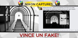 Nikon Captures fake