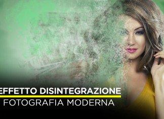 La guida per ottenere l'effetto disintegrazione con Photoshop