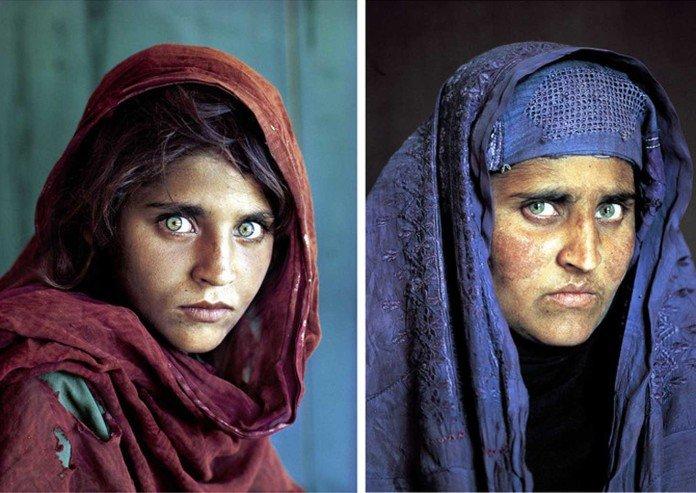 ragazza afgana di McCurry