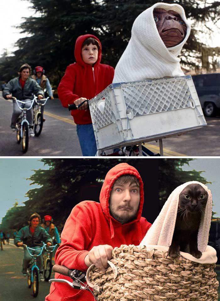"""Il film """"E.T."""""""