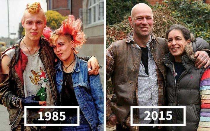fotografie ricreate anni dopo