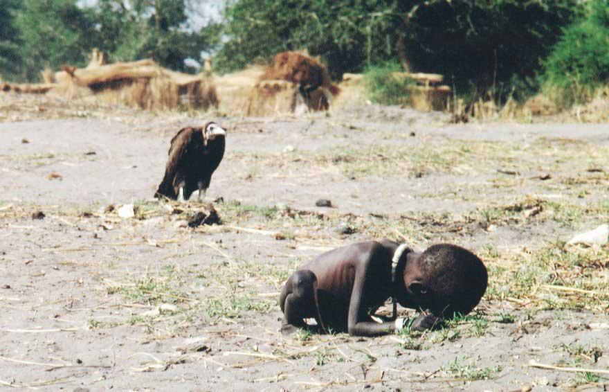 Kevin Carter, Bambino e avvoltoio