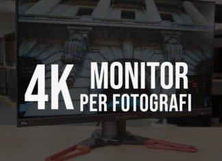 Migliori monitor 4k per fotografia