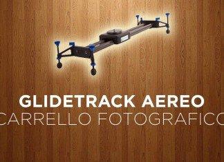 Glidetrack Aero, il carrello fotografico leggero