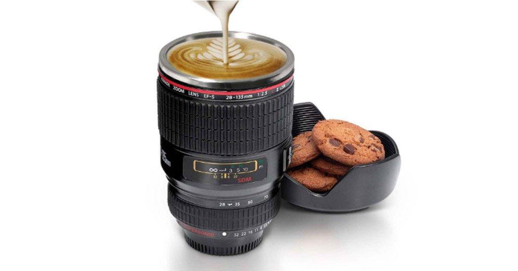 Tazza caffe obiettivo