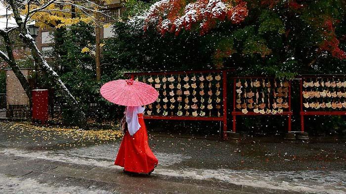Tokyo con la neve di Shizuo Kambayashi