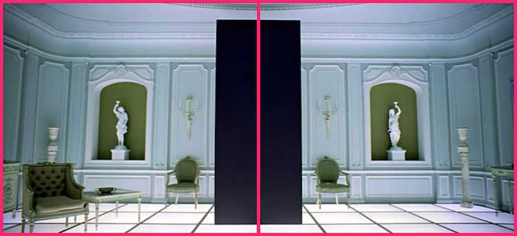 La composizione fotografica nel film: 2001 Odissea nello spazio