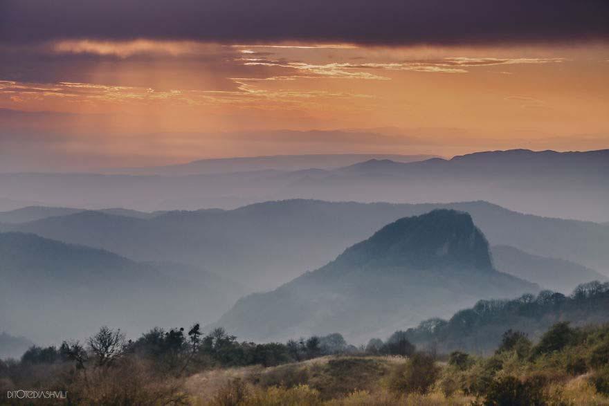 Dido Tediashvili e le foto della Georgia vista dall'alto