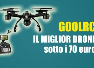Il drone GoolRc è il drone più economico sotto i 70 euro