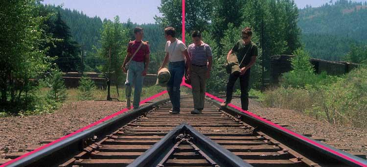 La composizione fotografica nel film: Stand By Me