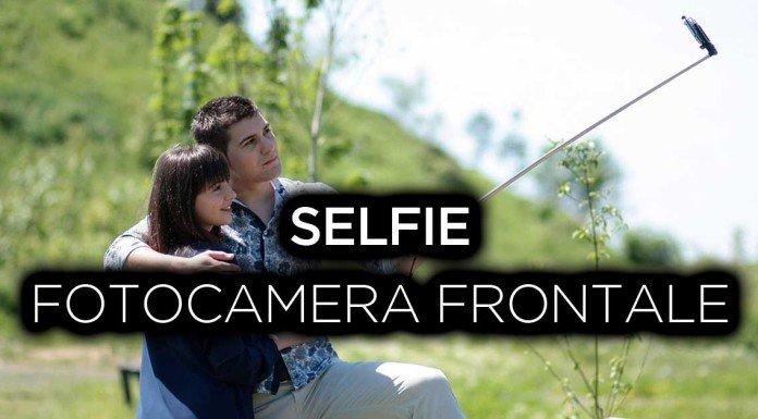 A cosa serve la fotocamera frontale? Selfie!