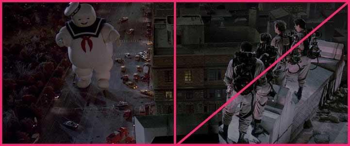 La composizione fotografica nel film: Ghostbuster
