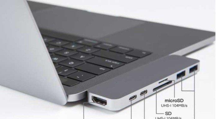 Hub Usb per Macbook Pro