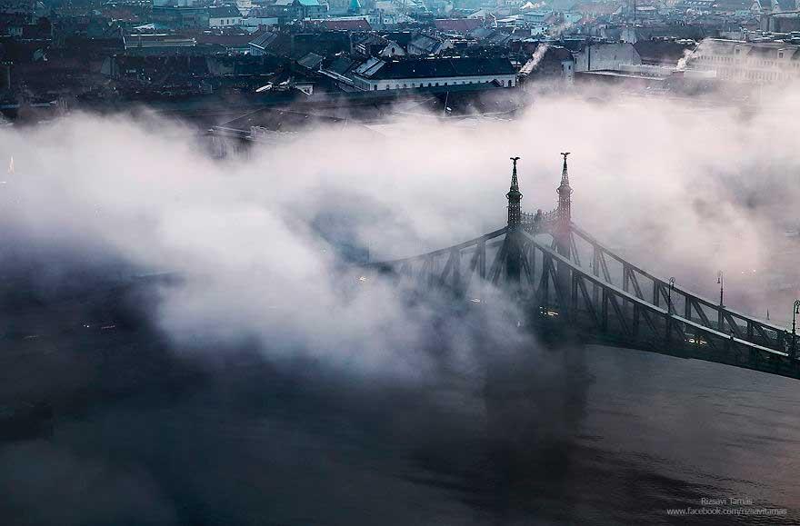 Budapest con la nebbia, Tamás Rizsavi (6)