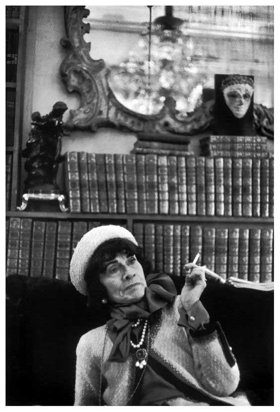 Henri Cartier Bresson fotografa Coco Chanel