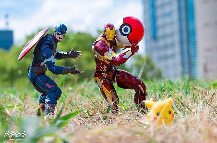 Hot Kenobi, Supereroi che prendono vita