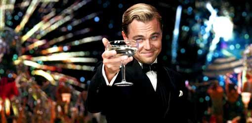 Leonardo di Caprio ne Il Grande Gatsby