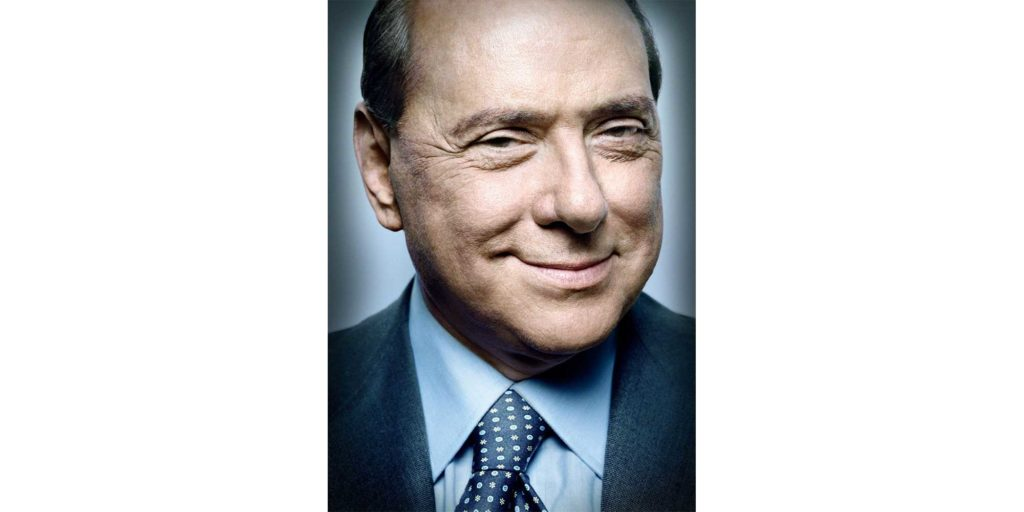 Silvio Berlusconi in uno scatto di Platon Antoniou