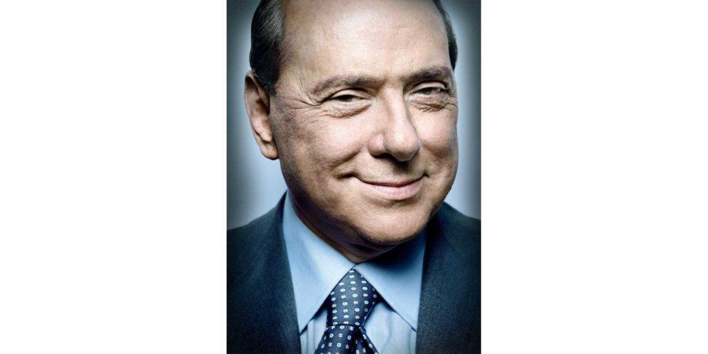 Silvio Berlusconi in uno scatto di Platon Antoniou