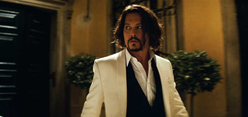 Johnny Depp in The Tourist