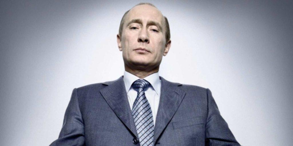 Vladimir Putin in uno scatto di Platon Antoniou
