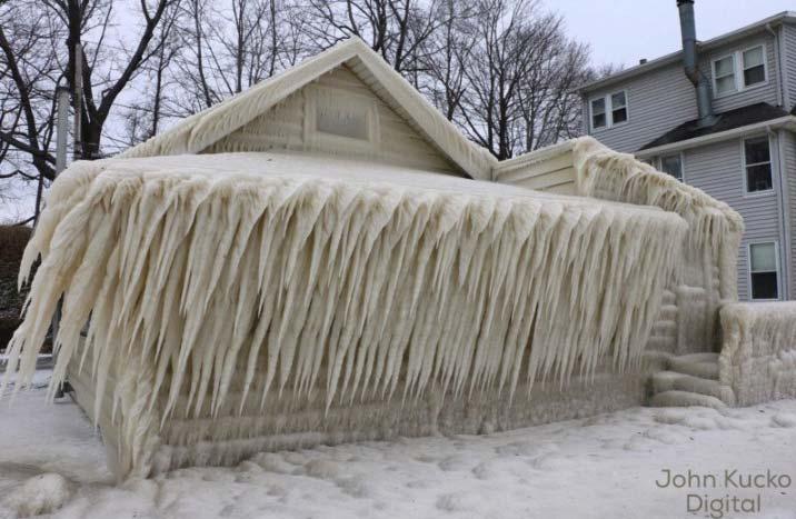 Casa gelata di John Kucko