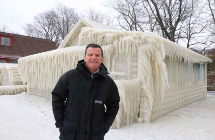 La casa ghiacciata di John Kucko