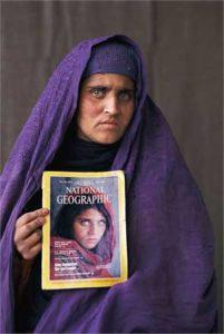 La ragazza Afgana di Steve McCurry dopo 20 anni