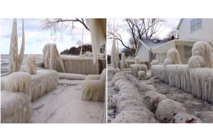 La casa di ghiaccio di John Kucko
