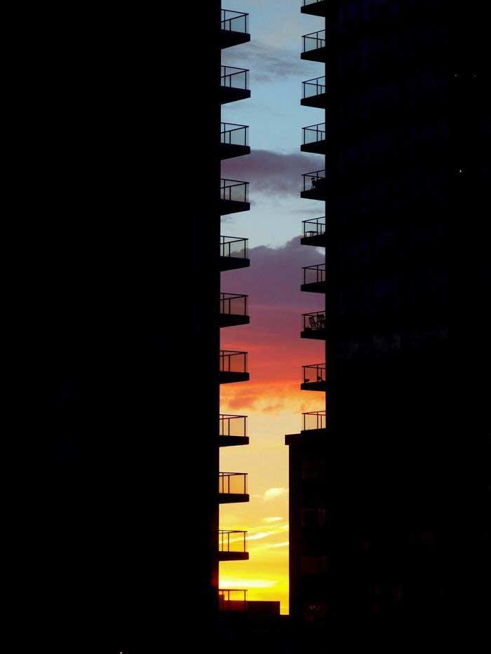 Foto stupenda durante un tramonto di Gabriel Puyana