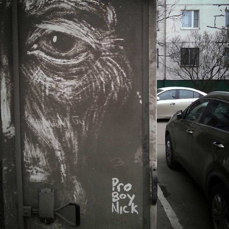 I lavori di Nikita Golubev