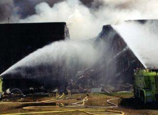 Foto dell'attentato al pentagono l'11 Settembre