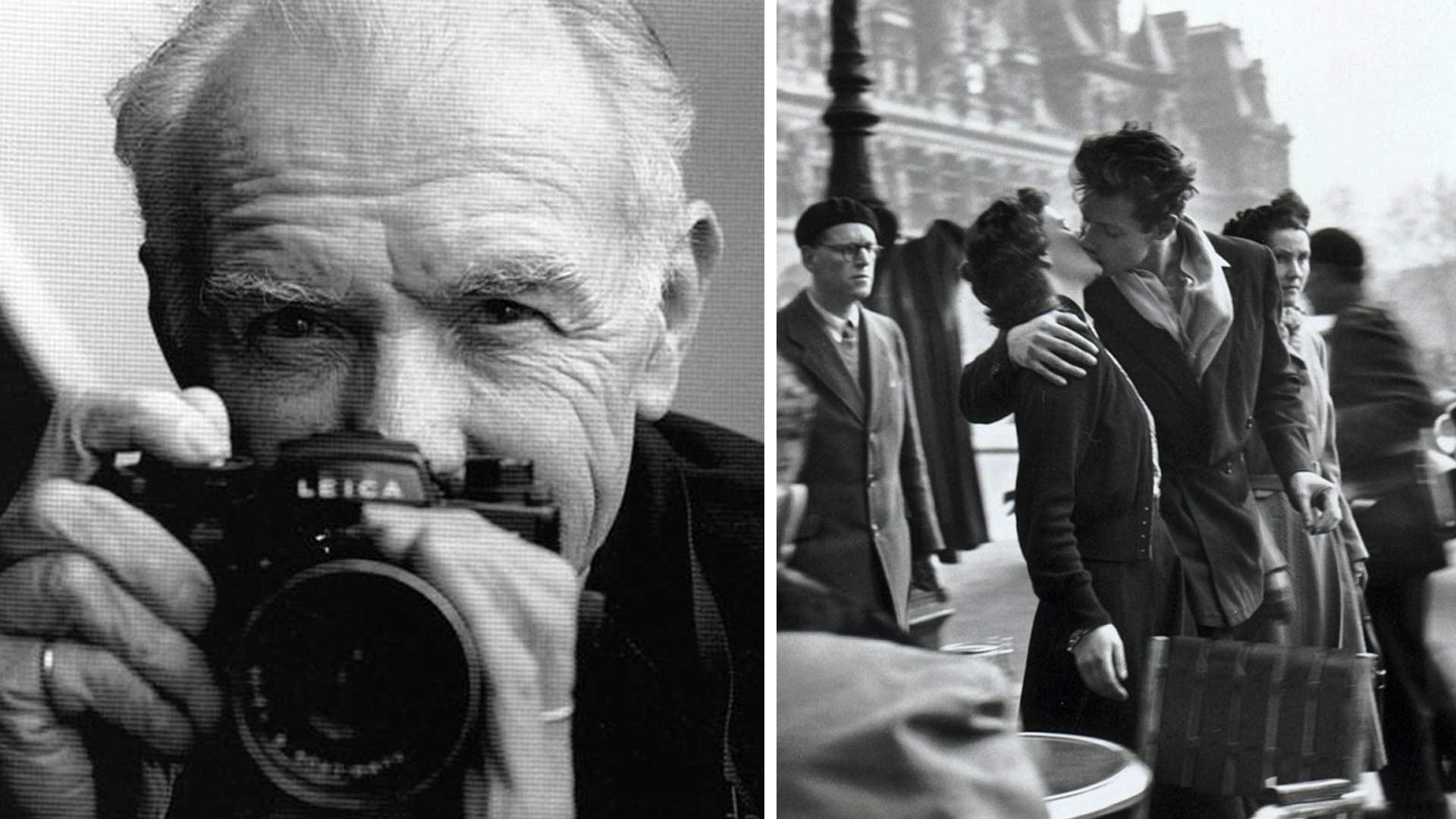 Robert Doisneau e la foto Bacio davanti all'Hotel de Ville
