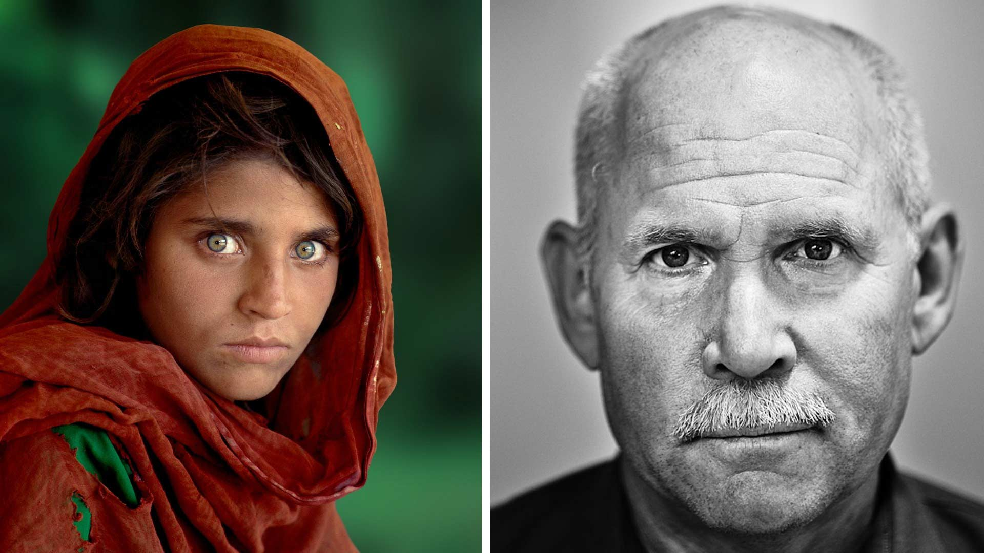 Steve McCurry e la Ragazza Afgana