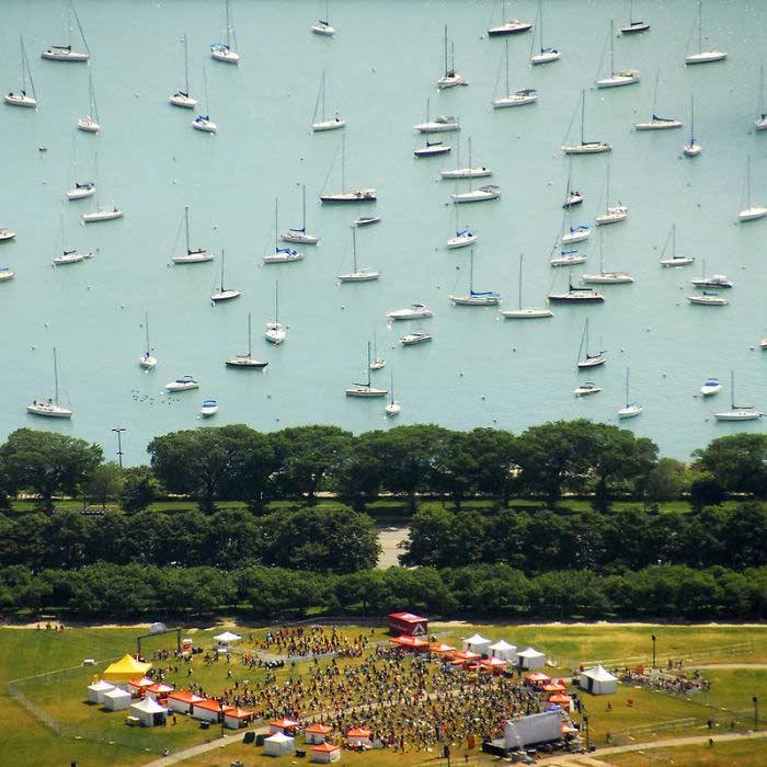 Barche sospese, non è un quadro ma una foto di ArkadiusBear