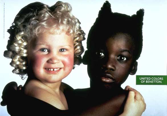 Bambini della Benetton, foto di Oliviero Toscani