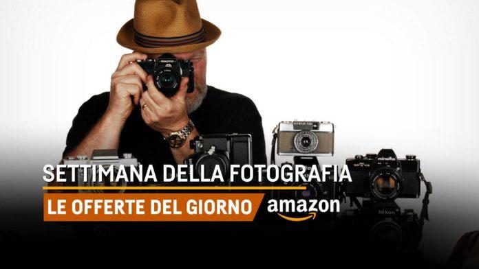Settimana della fotografia su Amazon, sconti e offerte