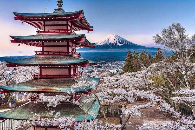 Splendida foto del Giappone di Komatsubara