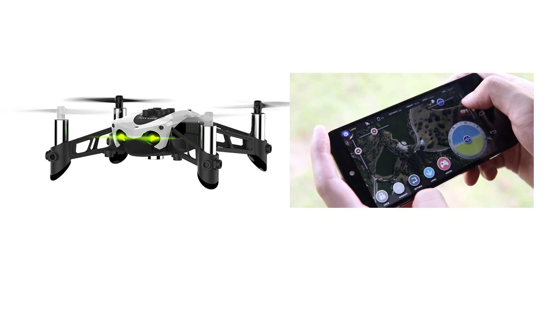Comandi smartphone per drone