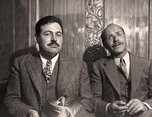 Donald Ogden Stewart e Ernest Hemingway