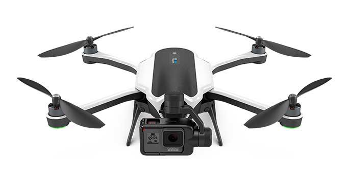 Secondo miglior drone, Drone Go Pro Karma