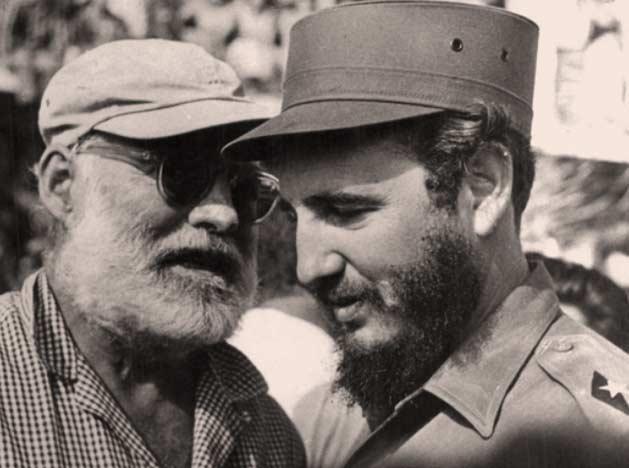 Fidel Castro e Ernest Hemingway