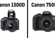 Il confronto tra Canon 1300D vs Canon 750D