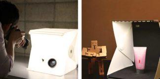 Lo studio pieghevole portatile per fotografie professionali