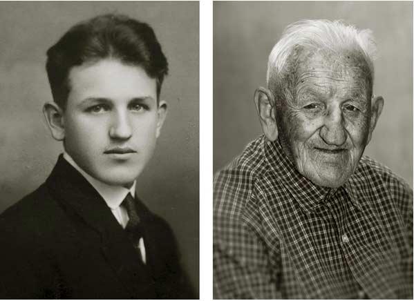 Fotografia di un centenario
