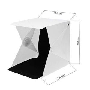 Le dimensioni dello studio fotografico portatile
