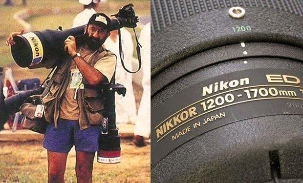 Il piu grande teleobiettivo Nikkor 1200-1700mm