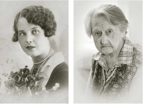 Foto di signora centenaria