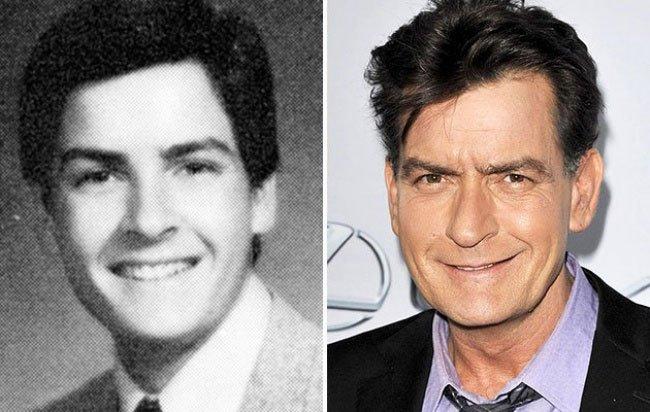 Charlie Sheen da giovane
