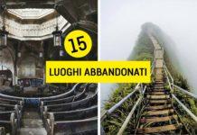 Fotografie di luoghi abbandonati